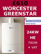 Worcester Combi Condensing Boilers