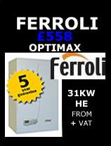 Ferroli Boilers Optimax