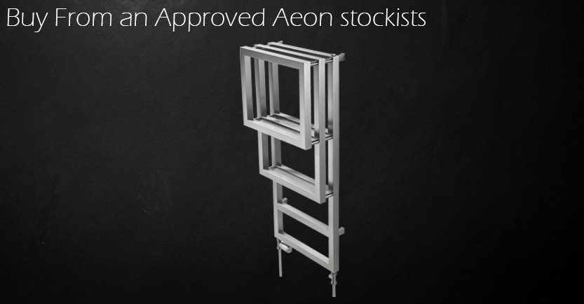 Aeon Bosporus Towel Rail Mirror Polished